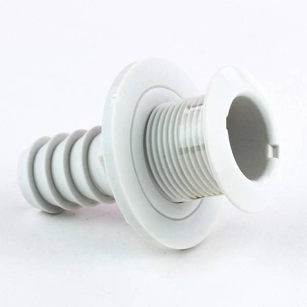 Borddurchlass 1 1/4 Zoll, Kunststoff Weiß Bild 1