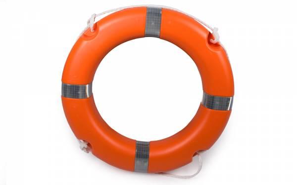 Rettungsring Rettungsreifen Außendurchmesser ∅ 64 cm mit Griffleine Bild 1