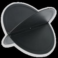 Ankerball ball anker segelboot signal steckbar kunststoff schwarz