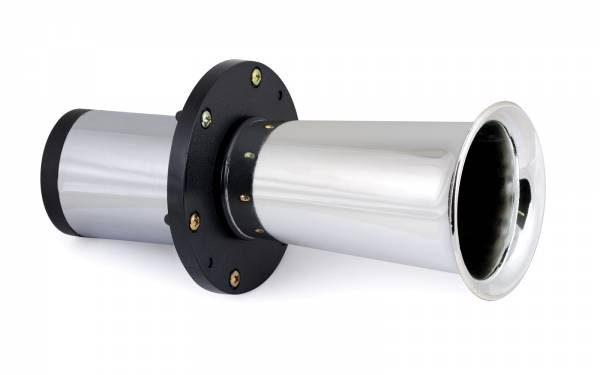 Oldtimer Hupe verchromt Signalhorn 12 V Fanfare Horn Bild 1