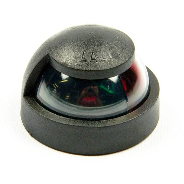 12 Volt LED Zweifarben - Positionslicht, Schwarz