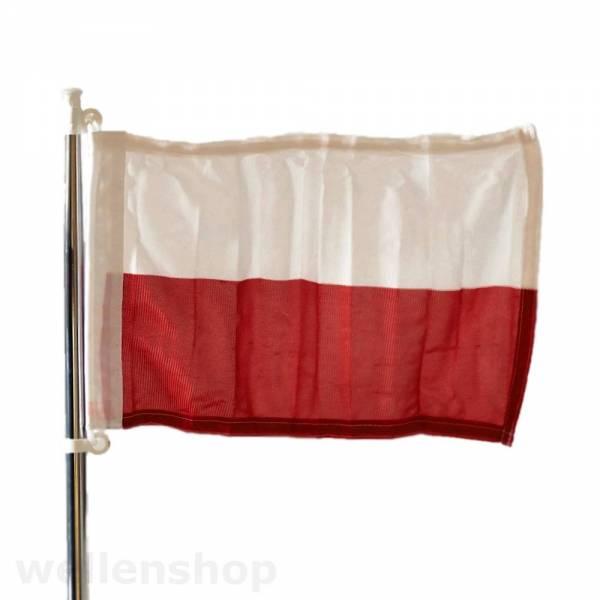 Flagge Polen 20 x 30 cm Polyester UV-beständig Bild 1