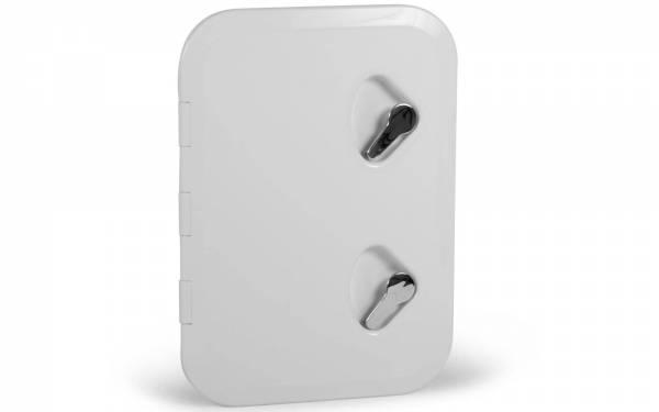 Inspektionsluke Inspektionsklappe Boot KROME 315 x 440 mm Weiß Bild 1