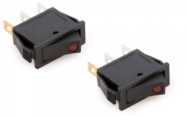 Kippschalter rote LED Bild 1