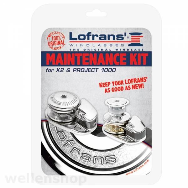 Lofrans X2 / Project 1000 Ankerwinde Instandhaltungskit Reparaturset Bild 1