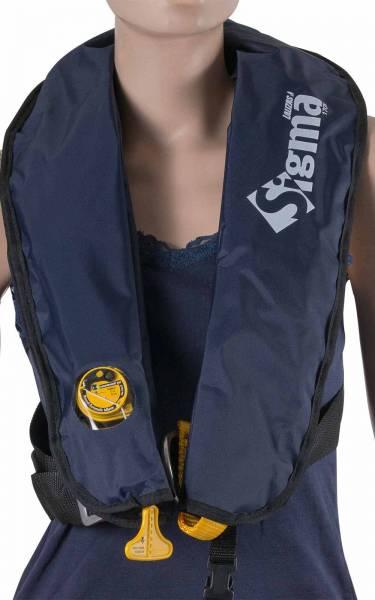 Lalizas Rettungsweste Sigma 170N manuelle & automatische Auslösung ab 40kg Bild 1