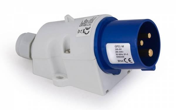 CEE Aufbaustecker 16A 200V-250V IP44 bild1