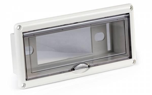Radioblende Kunststoff 225 x 105 mm wasserdicht Bild 1