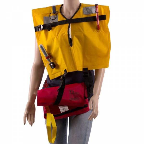Lalizas Rettungsweste Delta 160N manuelle Auslösung ab 40 kg 70-150cm Bild 1