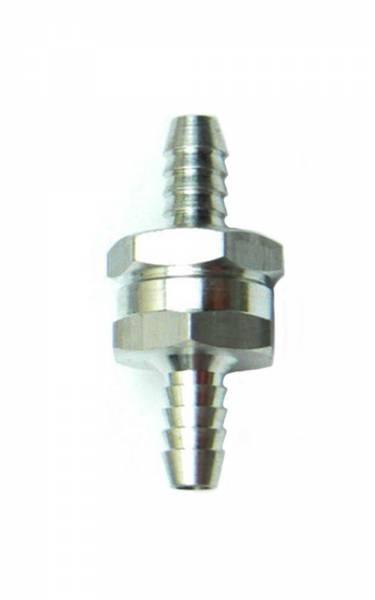 Rückschlagventil für Ø 10 mm Schlauch Aluminium Bild 1