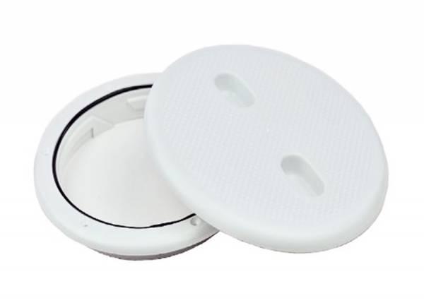Inspektionsluke Rund 205 mm Kunststoff Weiß Bild 1