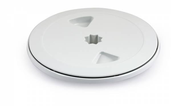 Inspektionsluke Rund 150 mm Kunststoff Weiß Bild 1