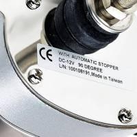Scheibenwischermotor 12 Volt Edelstahl Bild 2
