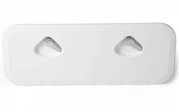Inspektionsluke Inspektionsklappe Boot KROME 243 x 607 mm Weiß Bild 1
