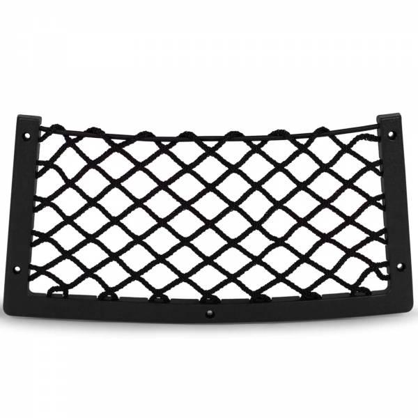 Ablagenetz Elastisch 366 x 180 mm mit Rahmen Kunststoff Schwarz Bild 1