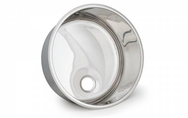 Spülbecken Edelstahl rund Durchmesser ∅ 39 cm Bild 1