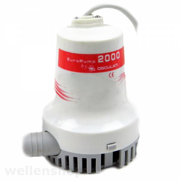 Osculati Bilgenpumpe Wasserpumpe 12V 7680 l/h bild 1