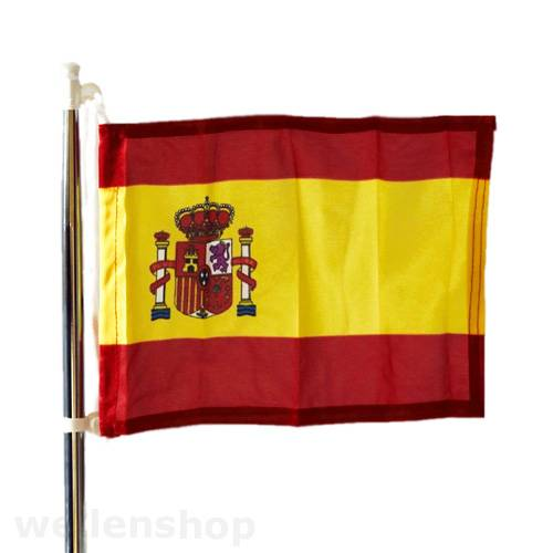 Flagge Spanien 20 x 30 cm Polyester UV-beständig