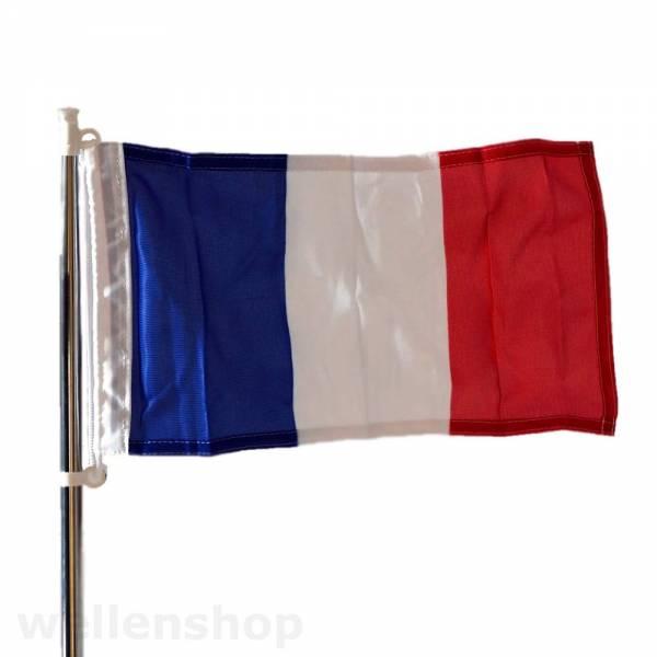 Flagge Frankreich 30 x 45 cm Polyester UV-beständig Bild 1