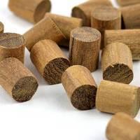 1x StückTeak Holz Stopfen Ø 8 mm