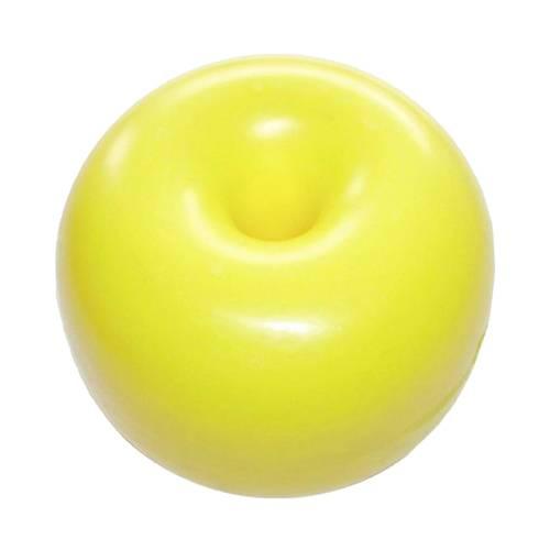 Boje Schwimmkörper Hostalen-Kugel Donut für Schwimmleine Gelb Ø260 mm Bild 1