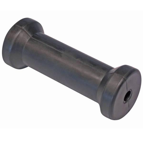 Mittelrolle Kielrolle 130 mm Gummi