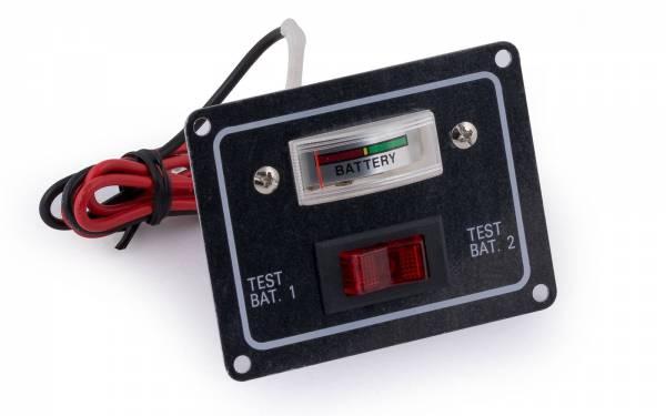 Batterietestschalter für 2 Batterien