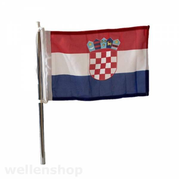 Flagge Kroatien 30 x 45 cm Bild 1