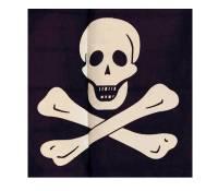 Flagge Pirat 30 x 45 cm Polyester UV-beständig Bild 2