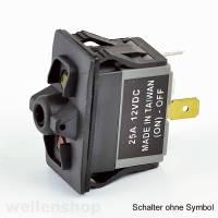 12V LED Kippschalter ON - OFF mit Schaltersymbol Hupe