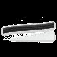 Expanderseil 7,5 mm 7m Gummiseil Gummileine Expanderleine schwarz mit Auge Boot
