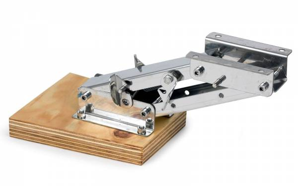 Motorhalter bis 7 PS in 2 Positionen fixierbar Edelstahl / Holz bild1