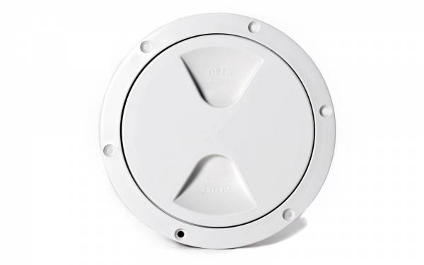 Inspektionsdeckel Weiß 205 mm Bild 1