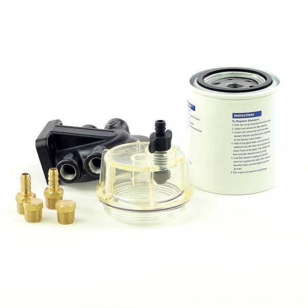 Boot Treibstofffilter Benzinfilter mit Wasserabscheider Bild 1