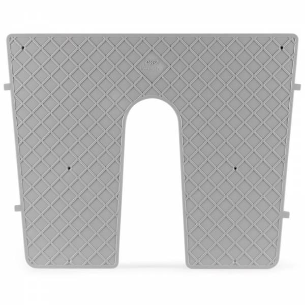 Heckschutzplatte für Außenborder 450 x 360 mm Grau Bild 1