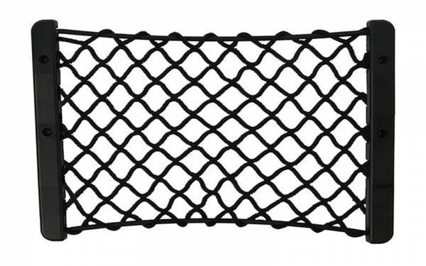 Ablagenetz Kunstoff schwarz elastisch Bild 1