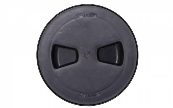 Inspektionsluke Rund 114 mm Kunststoff Schwarz Bild 1