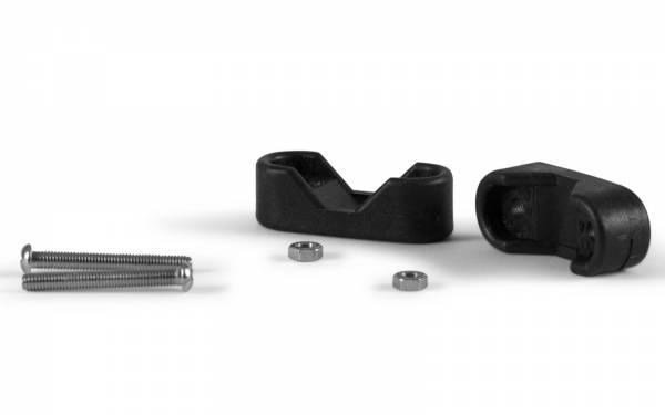 Rohr-Halterung 19mm Kunststoff Schwarz Bild 1