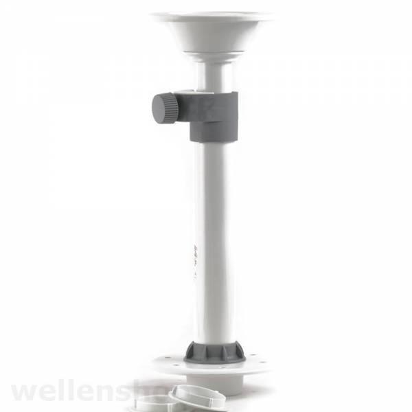 Tischbein höhenverstellbar Aluminium Bild 1