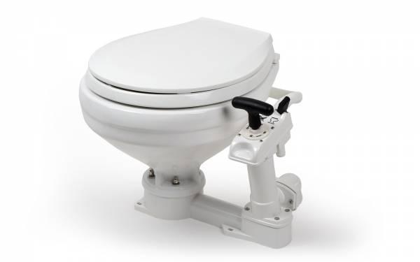 Nuova Rade Einbau-Bootstoilette mit Handpumpe groß Bild 1
