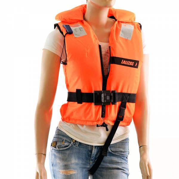 Kinder Feststoff-Rettungsweste 100 N 3 - 20 kg Orange Ohnmachtssicher Bild 1