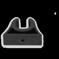 Bootshakenhalter 16 - 18 mm Halter Halterung Paddel Stiel Clip Befestigung Bootshaken Kunststoffclip Boot Bootshakenhalter 22 - 24 mm Schwarz Halter Halterung Paddel Stiel Clip Befestigung Bootshaken Kunststoffclip Boot