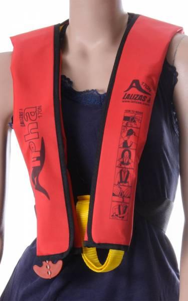 Lalizas Kinder Rettungsweste Alpha 170N 25 - 40 kg manuelle & automatische Auslösung Bild 1