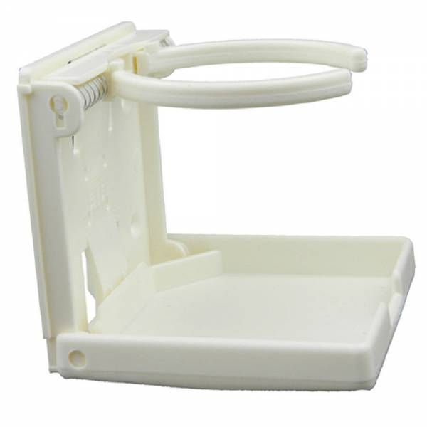 Getränkehalter verstellbar Becherhalter Kunststoff Weiß Bild 1