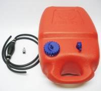 Benzintank 12 Liter + Stecker Anschluss Johnson Evinrude + Pumpball