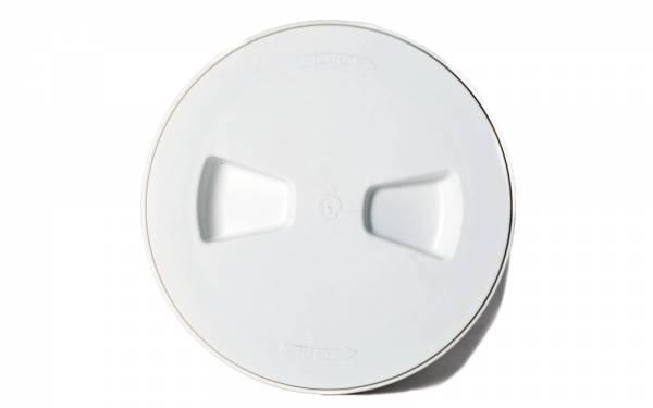 Inspektionsdeckel Weiß Ø 165 mm Bild 1