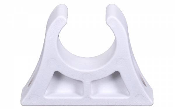 Bootshakenhalter 28 - 30 mm Weiß Bild 1