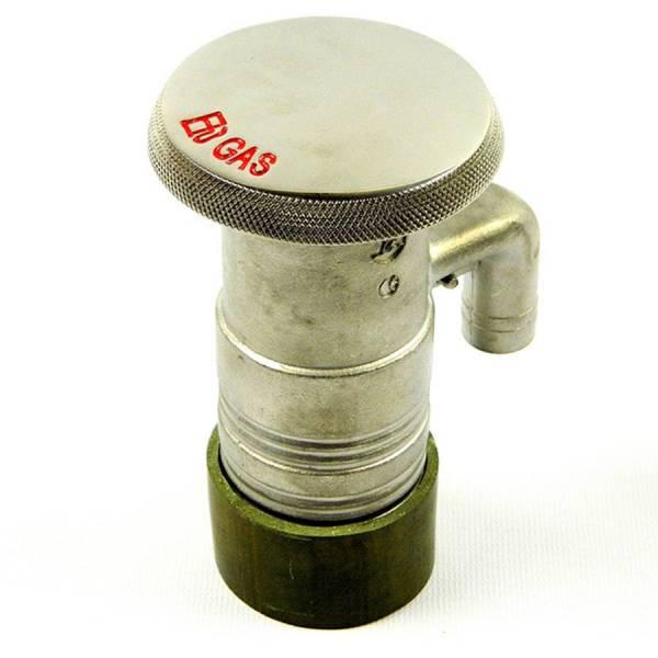 Tank-Einfüllstutzen mit Deckelentlüftung 50 mm, Edelstahl Bild 1
