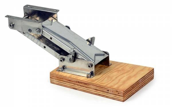 Motorhalter bis 15 PS in 2 Positionen fixierbar Edelstahl / Holz bild1