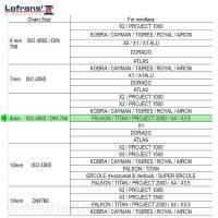 Lofrans Kettennuss 8 mm FALKON   TITAN   PROJECT 2000   X4   X3.5 Bild 3